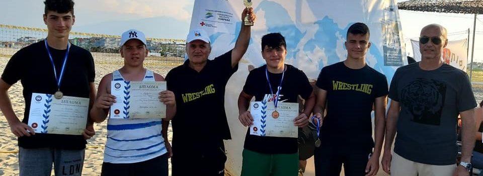 Πάλη: Δεύτερος ο ΑΡΗΣ στο Πανελλήνιο Πρωτάθλημα Παμπαίδων στην άμμο (pics)