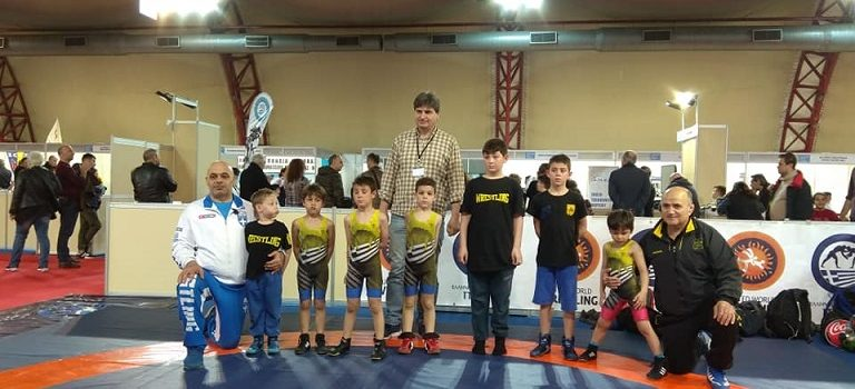 Επίδειξη των μικρών μας παλαιστών στην Sportexpo