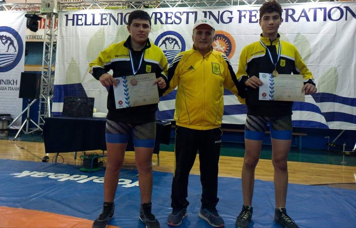 Πάλη: «Χρυσός» ο Κεσίδης, «χάλκινος» ο Αδαμίδης στο Πανελλήνιο Πρωτάθλημα