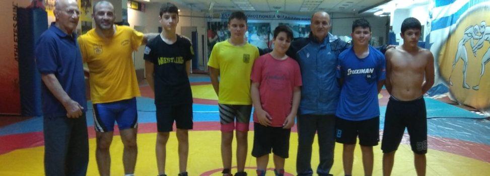 Πάλη: Στο διεθνές τουρνουά «Σεραφείμ Μπαρζάκοφ» ο ΑΡΗΣ