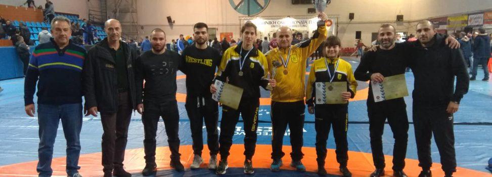 Πάλη: Δύο μετάλλια και 3η θέση για τον ΑΡΗ στο Πανελλήνιο Πρωτάθλημα (photos)