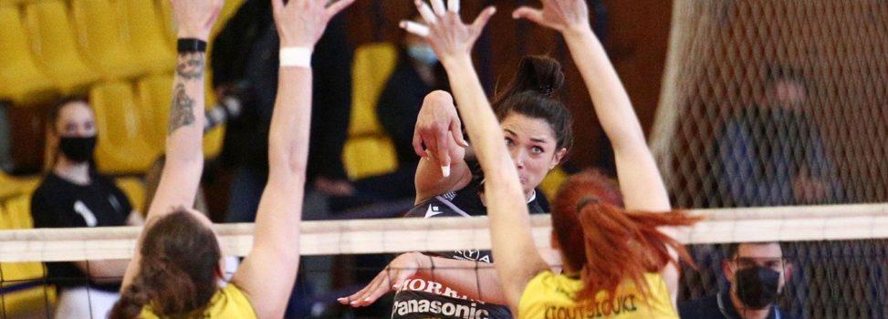 Βόλεϊ Γυναικών: Ήττα στο ντέρμπι και αποκλεισμός από τον τελικό Κυπέλλου