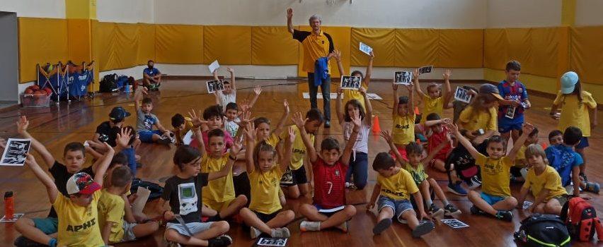 Ο Χάρης Παπαγεωργίου στο ARIS Summer Sports Camp 2021 (pics)