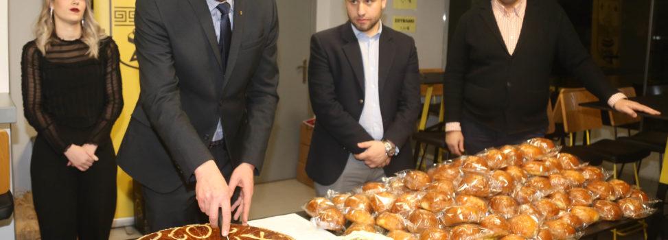 Ο Α.Σ. ΑΡΗΣ έκοψε την πρωτοχρονιάτικη πίτα του (photostory)