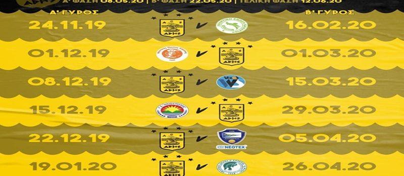 Πόλο: Το πρόγραμμα του ΑΡΗ στο νέο πρωτάθλημα