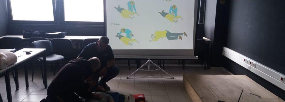 Ολοκληρώθηκαν με επιτυχία τα σεμινάρια πρώτων βοηθειών του ΑΡΗ (photos)