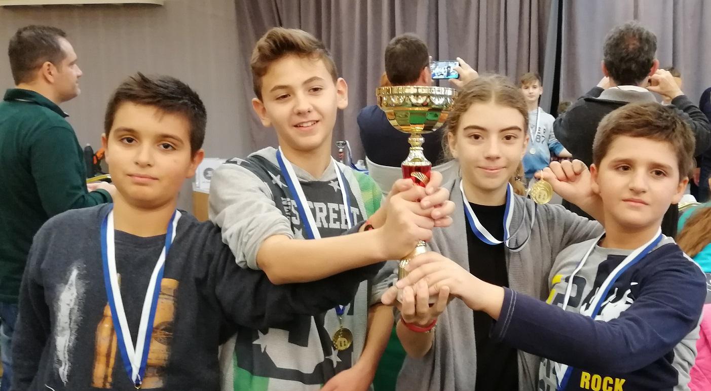Σκάκι: Αήττητη πρωταθλήτρια η παιδική ομάδα του ΑΡΗ