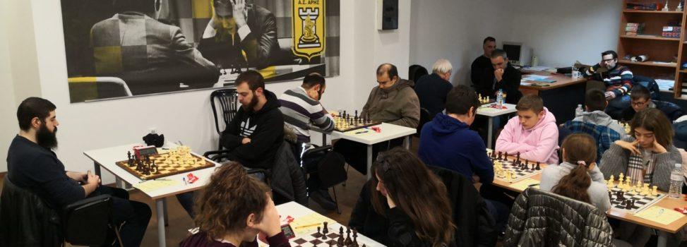 Σκάκι: Πρεμιέρα για τον ΑΡΗ στην Α' Εθνική