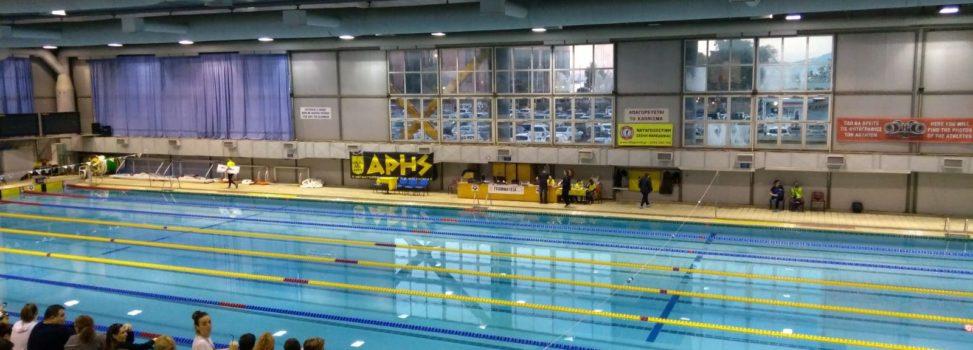 Κολύμβηση: Δεύτερος με 41 μετάλλια ο ΑΡΗΣ στους Αγώνες Προαγωνιστικών Κατηγοριών