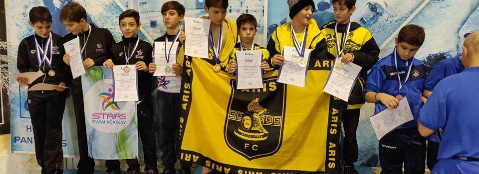 Κολύμβηση: Δεύτερος σε μετάλλια ο ΑΡΗΣ στην Πτολεμαΐδα (photos)
