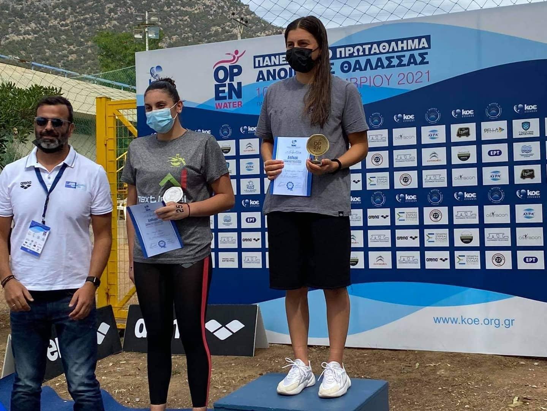 Κολύμβηση: Τρία χρυσά, ένα ασημένιο και ένα χάλκινο μετάλλιο για τον ΑΡΗ στο Πανελλήνιο Ανοιχτής Θαλάσσης