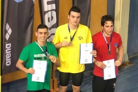 Κολύμβηση: 17 μετάλλια για τον ΑΡΗ και τριπλό πανελλήνιο ρεκόρ για τον Ζαχαριάδη