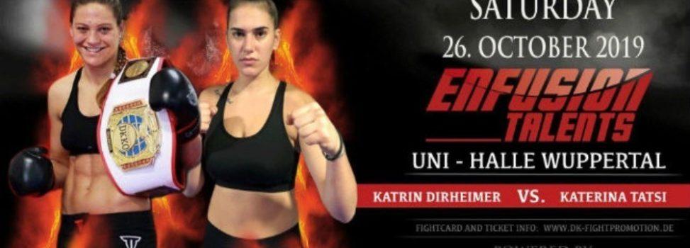 Kick Boxing: Έτοιμη για τον τίτλο η Τάτση (photos)