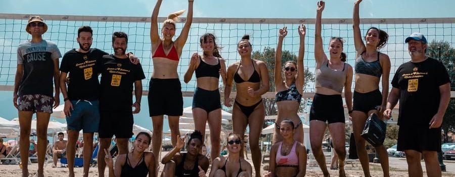 Βόλεϊ Γυναικών: Αυλαία στην Ασπροβάλτα με beach volley (photostory)