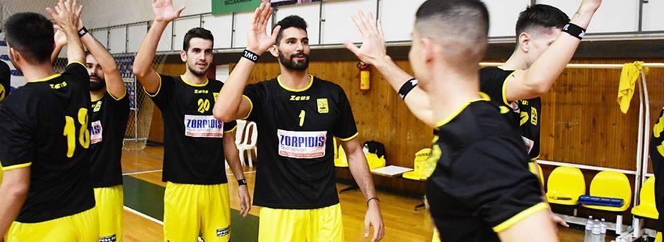 Βόλεϊ Ανδρών: Συνεχίζει αήττητος ο ΑΡΗΣ, 1-3 στην Καρδίτσα