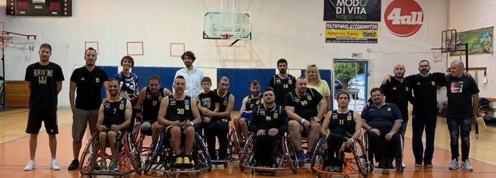 Μπάσκετ με Αμαξίδιο: Δεύτερος ο ΑΡΗΣ στο τουρνουά του Μεγάλου Αλεξάνδρου (pics)