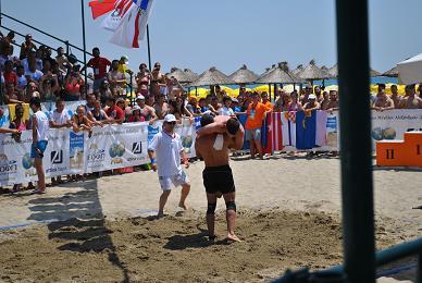 Ο ΑΡΗΣ στο Πανελλήνιο Πρωτάθλημα Πάλης στην Άμμο