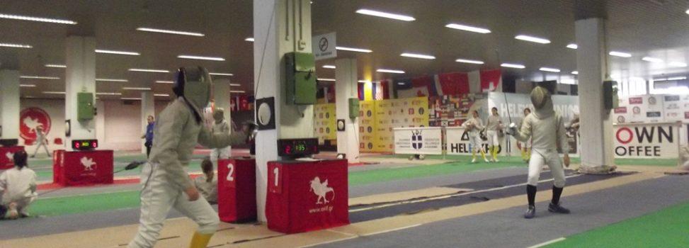 Με οκτώ αθλητές/τριες ο ΑΡΗΣ στο Πανελλήνιο Κύπελλο Ξιφασκίας