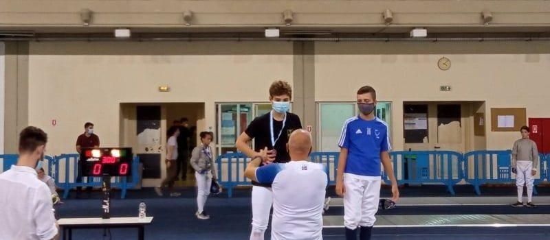 Ξιφασκία: Χάλκινο μετάλλιο ο Γρόλλιος στο Πανελλήνιο Πρωτάθλημα