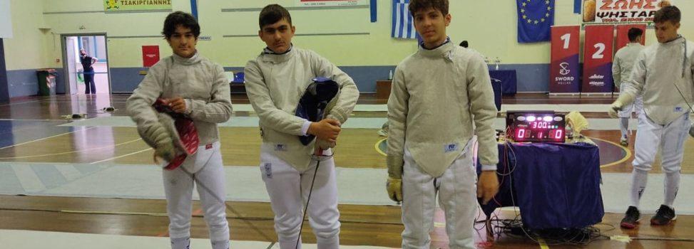 Ξιφασκία: Τέταρτος ο ΑΡΗΣ στο Πανελλήνιο Πρωτάθλημα Εφήβων – Νεανίδων