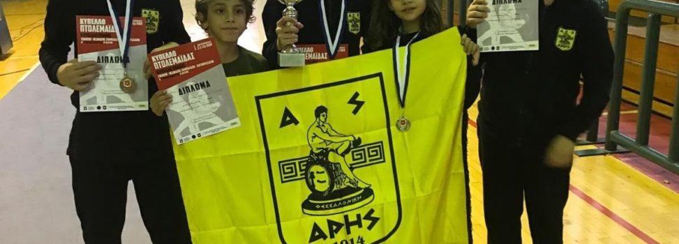 Ξιφασκία: Τέσσερα μετάλλια για τον ΑΡΗ στο Πανελλήνιο Κύπελλο (photos)