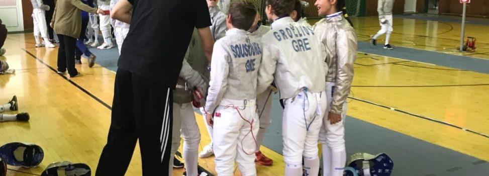 Ξιφασκία: Με 13 αθλητές / τριες ο ΑΡΗΣ στο Κύπελλο Σπάθης