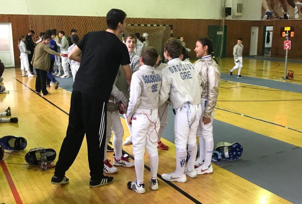 Ξιφασκία: Ένας αθλητής και δύο αθλήτριες του ΑΡΗ στην προ-εθνική