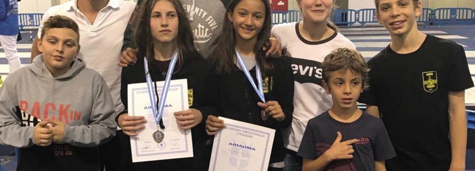 Ξιφασκία: Τρία μετάλλια για τον ΑΡΗ στο Α' Πανελλήνιο Κύπελλο Σπάθης