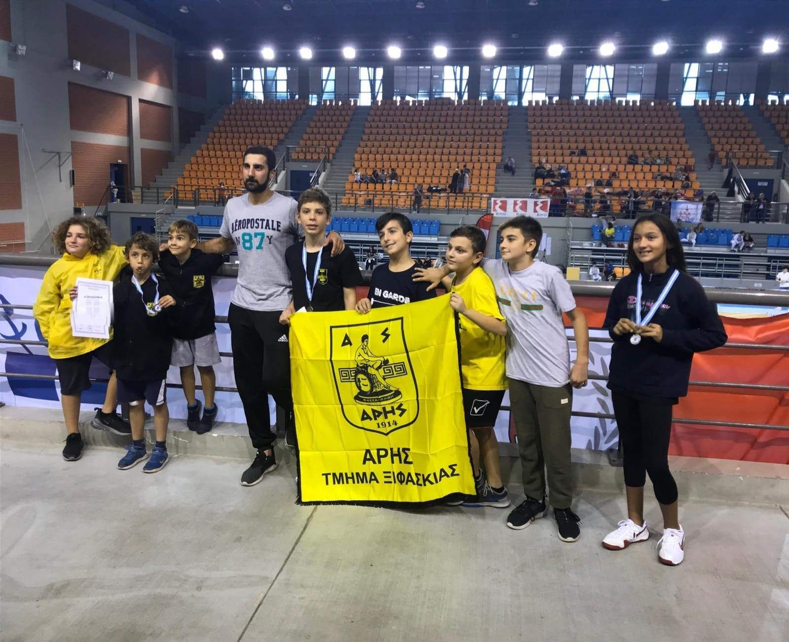 Ξιφασκία: Τρία μετάλλια για τον ΑΡΗ στο Πανελλήνιο Κύπελλο (photos)